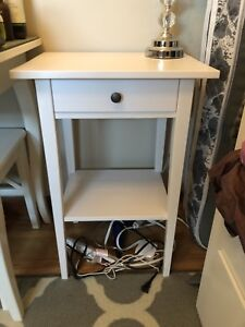IKEA bed side table