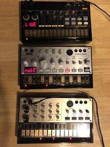 Korg Volca Beats, Bass & Keys