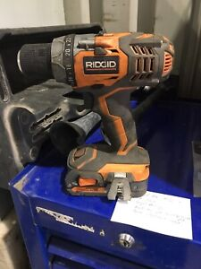 18 volt Lithium cordless drill with battery, no charger