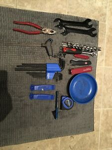 Park tools bicycle tool lot