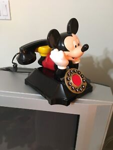 Mikey Mouse land line phone