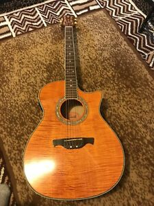 Crafter Acoustic Guitar with pickup