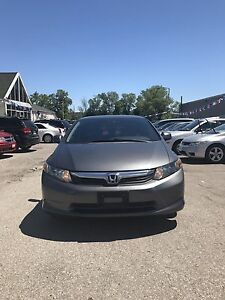 2012 HONDA CIVIC LX CERTIFIED NO ACCIDENT FINANCE AVAILABLE