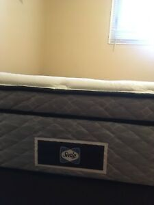 Sealy Brand Pillow Top Mattress and Boxspring $400