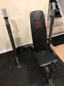 Marcy Bench and squat Rack