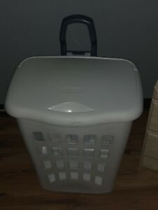 Laundry basket and garbage pail