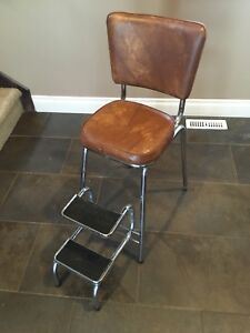 Vintage High Chair - with folding steps