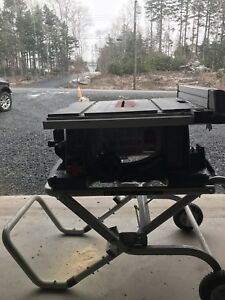 "Bosch 10"" Table Saw (4100) with Gravity Rise Stand"