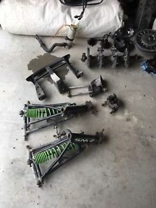 2001 arctic cat ZR front suspension