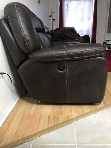 NEED GONE electric leather recliner