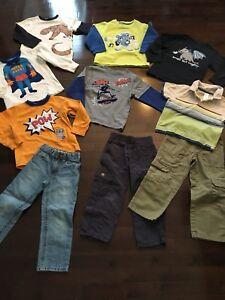 Lot 10-piece Boys Gymboree Fall/Winter Clothes - Size 4/4T