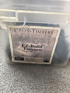 Cross Timbers EZ-Build Fasteners and bits