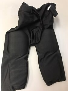 Basic black all-in-one football pants