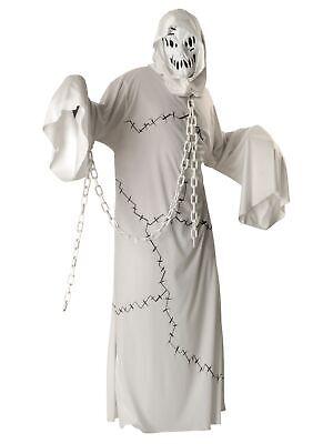 Cool Ghoul Ghost Demon Monster Halloween Horror Adult Mens Costume STD