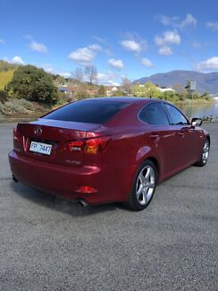 Lexus IS250 Lindisfarne Clarence Area Preview