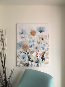 Wall Art - Two Coordinating Canvas Prints