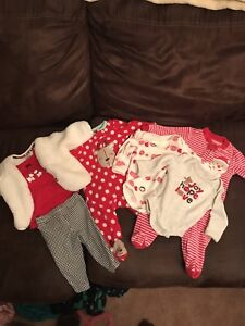 0-3 Month Baby Christmas Clothes
