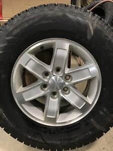 4 winter tires on GMC rims