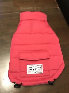 Fab Dog winter coat for a small dog