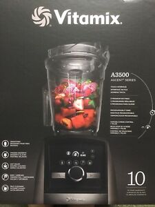 Vitamix A3500  new in sealed box