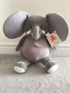 BRAND NEW with tag embroider buddy elephant
