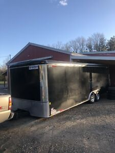 24 foot United inclosed car hauler