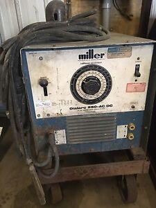 Soudeuse Miller dialarc 250 AC DC