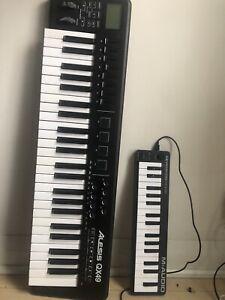 Alesis & M audio midi keyboard