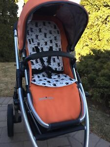 Padded stroller seat liners