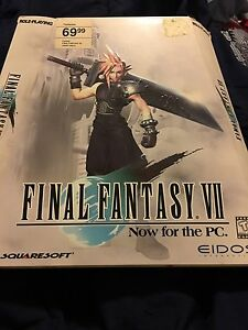 Final Fantasy 7 PC rare