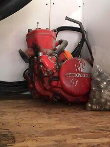 Cr250R motor