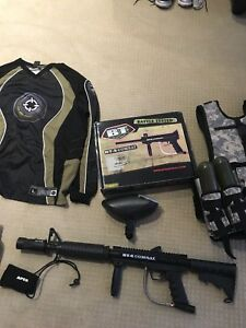 Barely Used Paintball Set