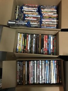 DVD and Blu Rays