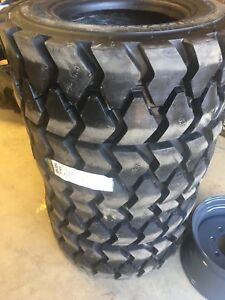 12-16.5 tires new with or without wheels