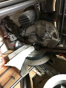 Bosch Miter Saw Axial