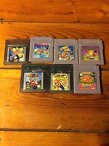 Gameboy games and camera