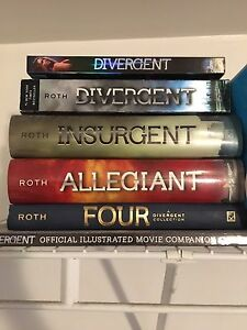 Divergent Entire Series With DVD and Movie Companion