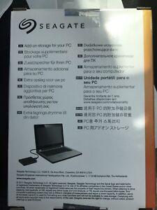 Brandnew Seagate 1.5TB portable hard drive
