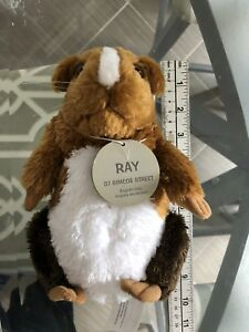 Ray Blockbuster Mascot Hamster Guinea Pig RARE 7 Applause Plush