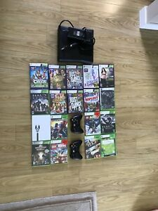 Xbox 360 250Gb 18 games and 2 controllers, Kinect included