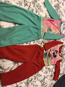 Two sets of Disney pajamas