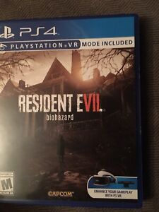 Barley used/perfect cond PS4 Resident Evil Bl7 Biohazard