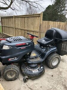 Troy-Bilt Lawn Tractor with Bagger