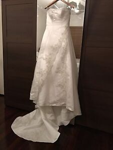 Hob Nob Wedding Dress White Gum Valley Fremantle Area Preview
