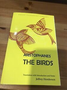 "Aristophanes ""The Birds"" *BRAND NEW*"
