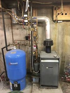 Boiler and Boiler Mate hot water tank