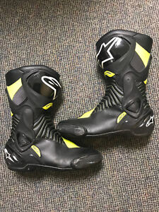 Alpinestars Smx6 Racing Boots Size 11US 46 Euro