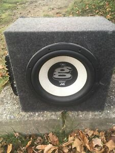 Sub and amp combo
