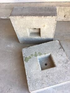Concrete Footing/Pads