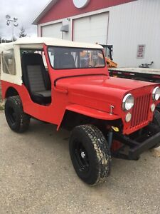 1954 Willy's Jeep
